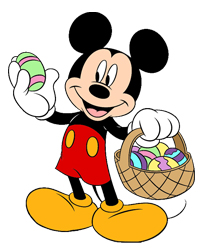 Mickey Easter Clip Art